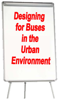 designing for buses in the urban environment